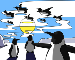Penguins of Flight by cow41087