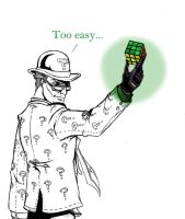 The Riddler... by TimelessUnknown