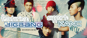 Big Bang Support Banner by IchigoGirl9876