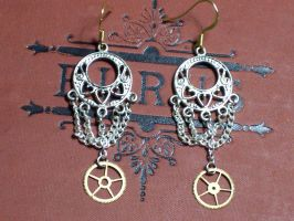 Chandelier Earrings by LeviathanSteamworks