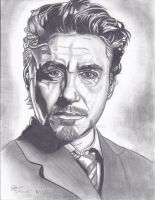 Robert Downey Jr. by Joezart