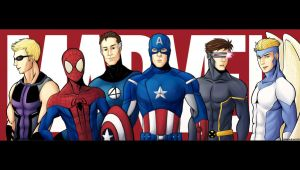 Marvel Superheroes by eonlegend