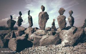 Stone balance in Hungary by tamas kanya by tom-tom1969