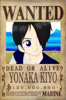 One Piece OC- Wanted Poster by FFsGunslingerVincent