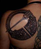 Viking brooch by DarkSunTattoo