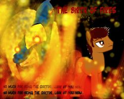 My Little Timelord The Birth of Fires Cover by KimandAbbysaccount