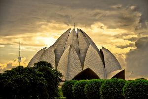 Lotus temple by imanart
