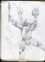 Party Marine of The Great Pinkie Pie - Sketch by Coporaptor