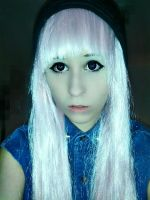 My new pastel wig OuO by Strawberri-mashumaro