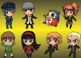 Persona 4 Charms by yuliya