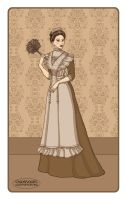 Victorian maid by LaTaupinette