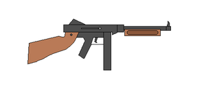 M1A1 Thompson SMG by KoKoaLover1