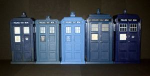 The Doctor's Trusty TARDIS by CyberDrone