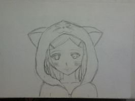 WIP Aiko in Cat Hoodie by alan1230