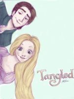 Tangled (Colored) by LikeATowtruck