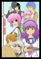 Angel beats collage. by bluepen731