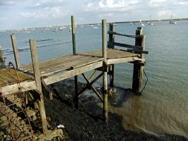 Rickety Pier by fuguestock