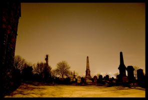graves at nite.. by damo3sp