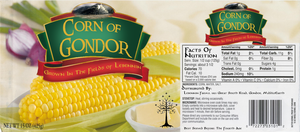 Corn Of Gondor - Label by atsouza