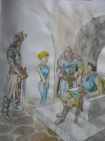 Prince Valiant colored sketch by hcollazo2000