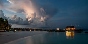 Passing Storm by MarkKenworthy