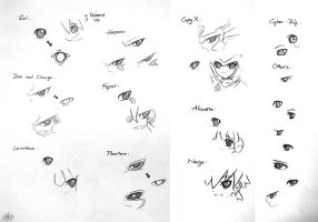 MMZ: Drawing eyes practice by Shadow-Hunter-2192