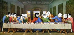 The Last Supper by TheArtistsAreHungry