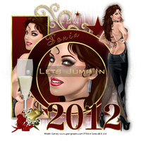 Happy New Year 2012 by CrazyFantasy71
