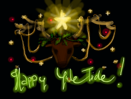 Happy Yule Tide! by k1k0r0