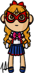 Pretty Guardian Sailor Moon - Sailor V by shrimp-pops