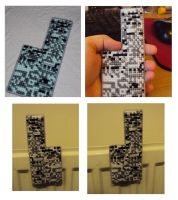 double sided Missingno magnet by Alondra-chui