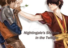 Nightingale's Shadow Cover by ChinAnime