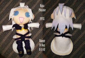 Kuja Plushie b-day present by roseannepage