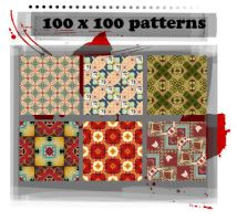100x100 patterns 002 by ffyunie