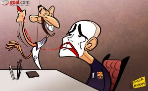 Valdes plays the clown by OmarMomani
