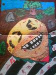 Psycho Smiley Face by DumpsterKid