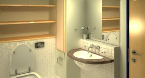 Bathroom in 3D by Dday007