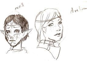Merrill and aveline by eilid
