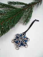 Celtic Star Christmas Ornament by SerenityinChains