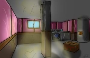 Basement Scene (Animation Course) by WhosWho23