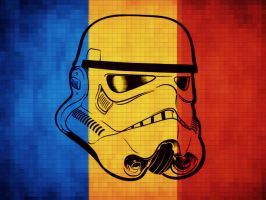 Romania Stormtrooper Flag by Zaigwast