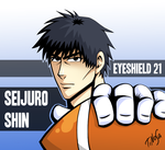 Seijuro Shin - Eyeshield 21 by TiNoSa