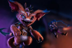 Gnar, the piltover chaos by MonkeyMan-ArtWork
