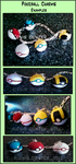 Pokeball Charms by Sparkle-And-Sunshine