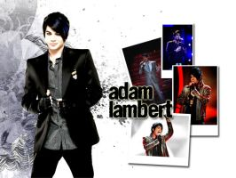 Adam Lambert by radiodaydream