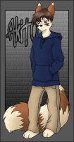 Akito: Angst Puppy by tibek