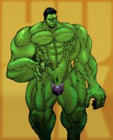 Hulk Costume Redesign by Selkirk (COLORS) by carol-colors