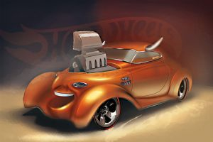 Hot Wheels The Face by candyrod