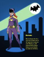 Batman 1966 - Batgirl by SeriojaInc
