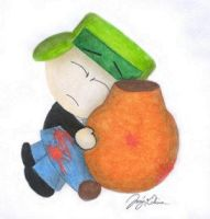 FriendsForever-Kyle and Kenny by kyle-broflovski